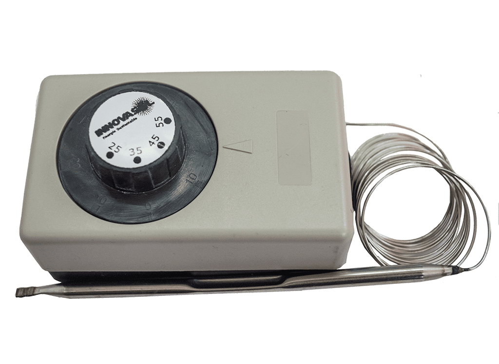 Termostato de capilar y bulbo para colector EPDM NC/NA